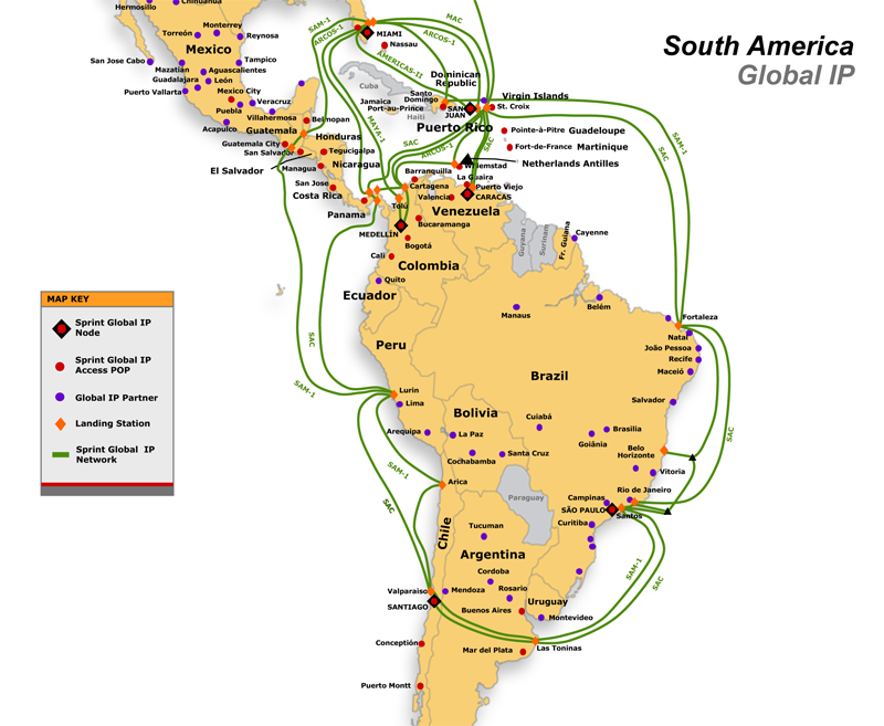 Coverage Areas Implementation Schedule US Internet InterTubes A